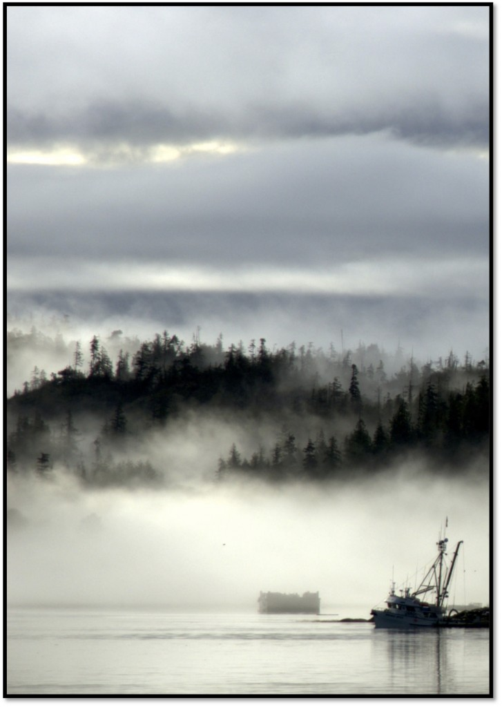 Klain Fog Fishing Boat